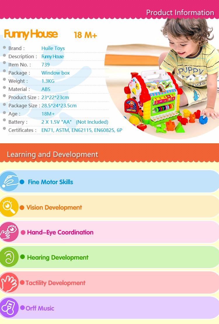 la maison éducative jouet pour enfant à Marrakech